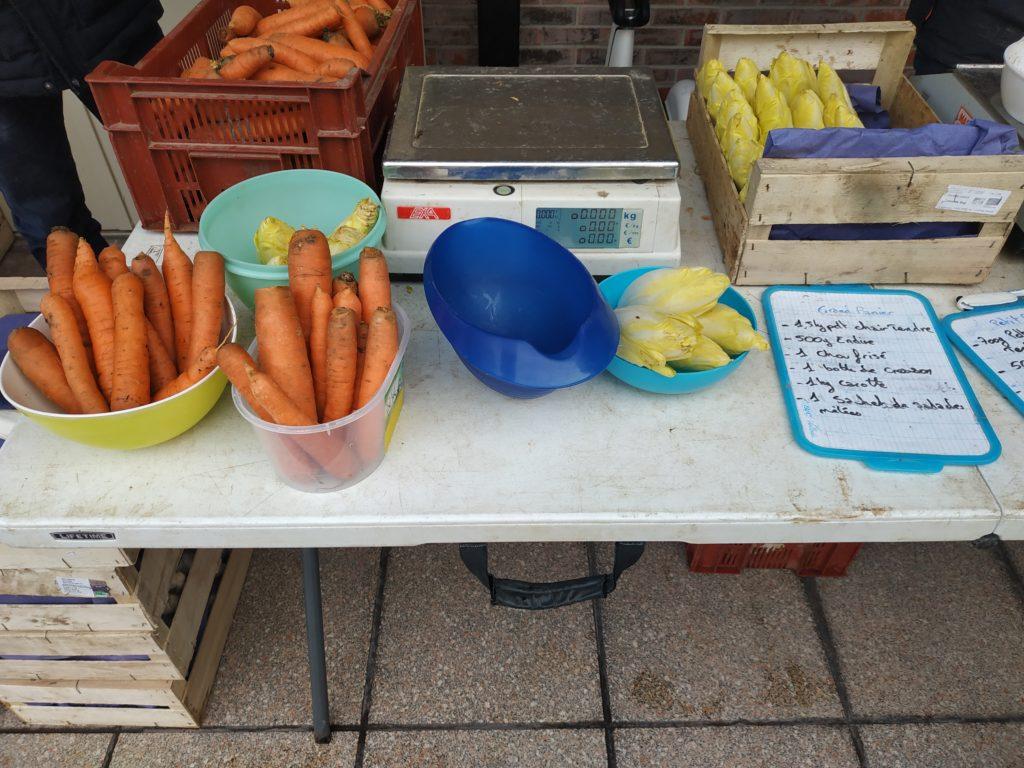 Des pots pour les légumes